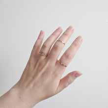 Load image into Gallery viewer, Handmade Minimal Stacking Rings