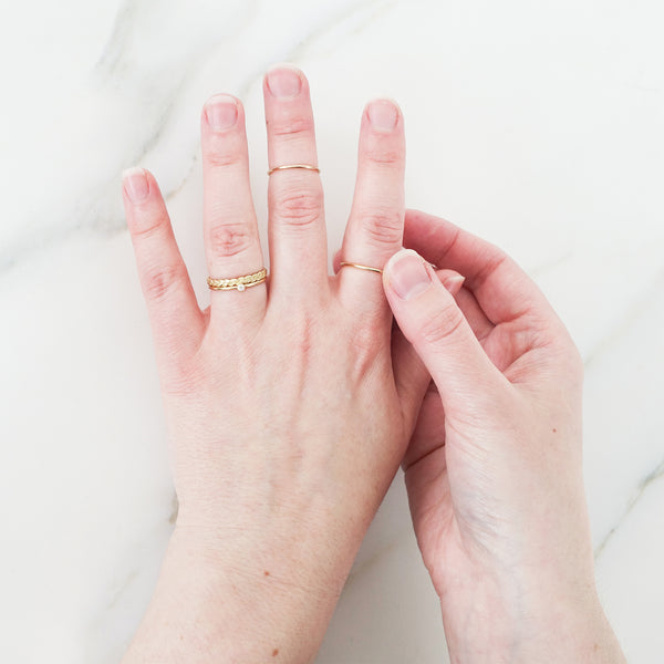 Minimal Stacking Rings