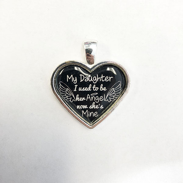 My Daughter Necklace - Does Not Hold Ashes
