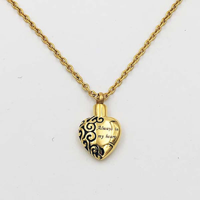Always in my heart 14K Gold Plated