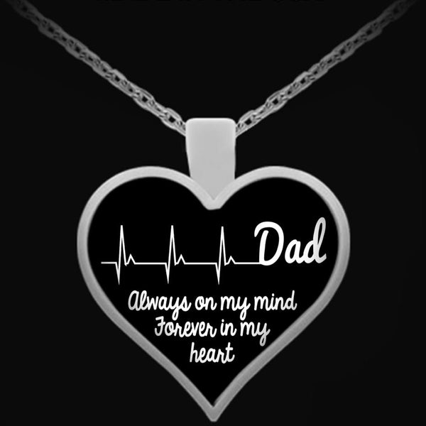 Necklace - Dad In My Heart
