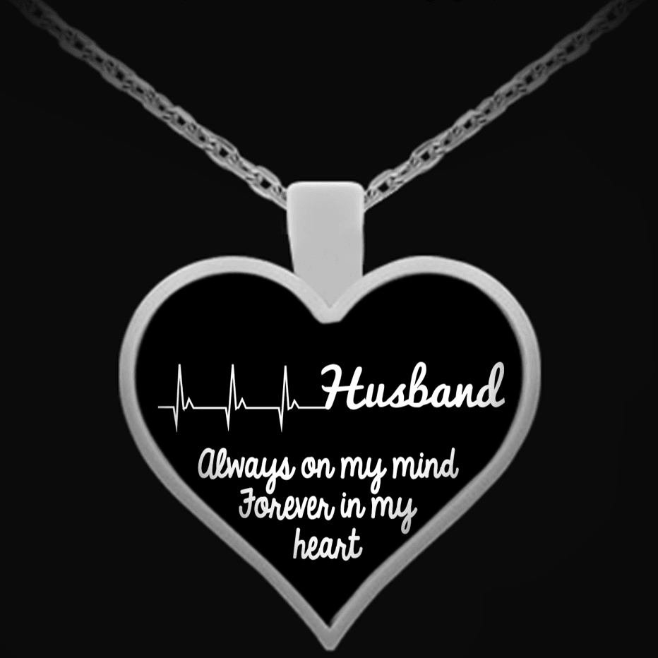 Necklace - Husband In My Heart