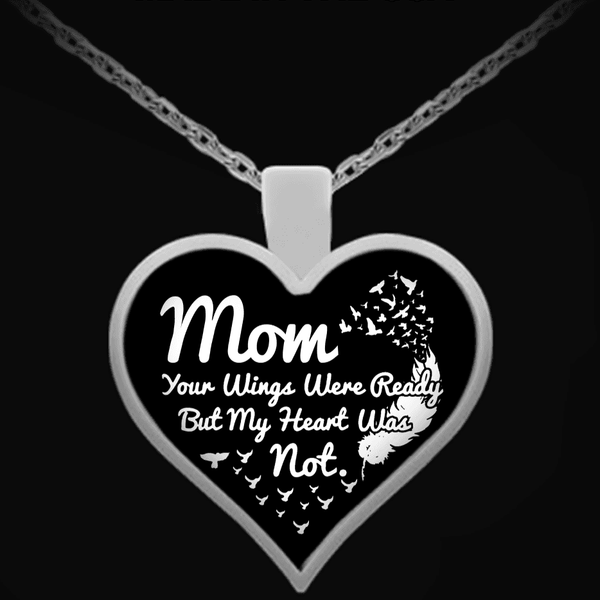 Necklace - Mom Wings