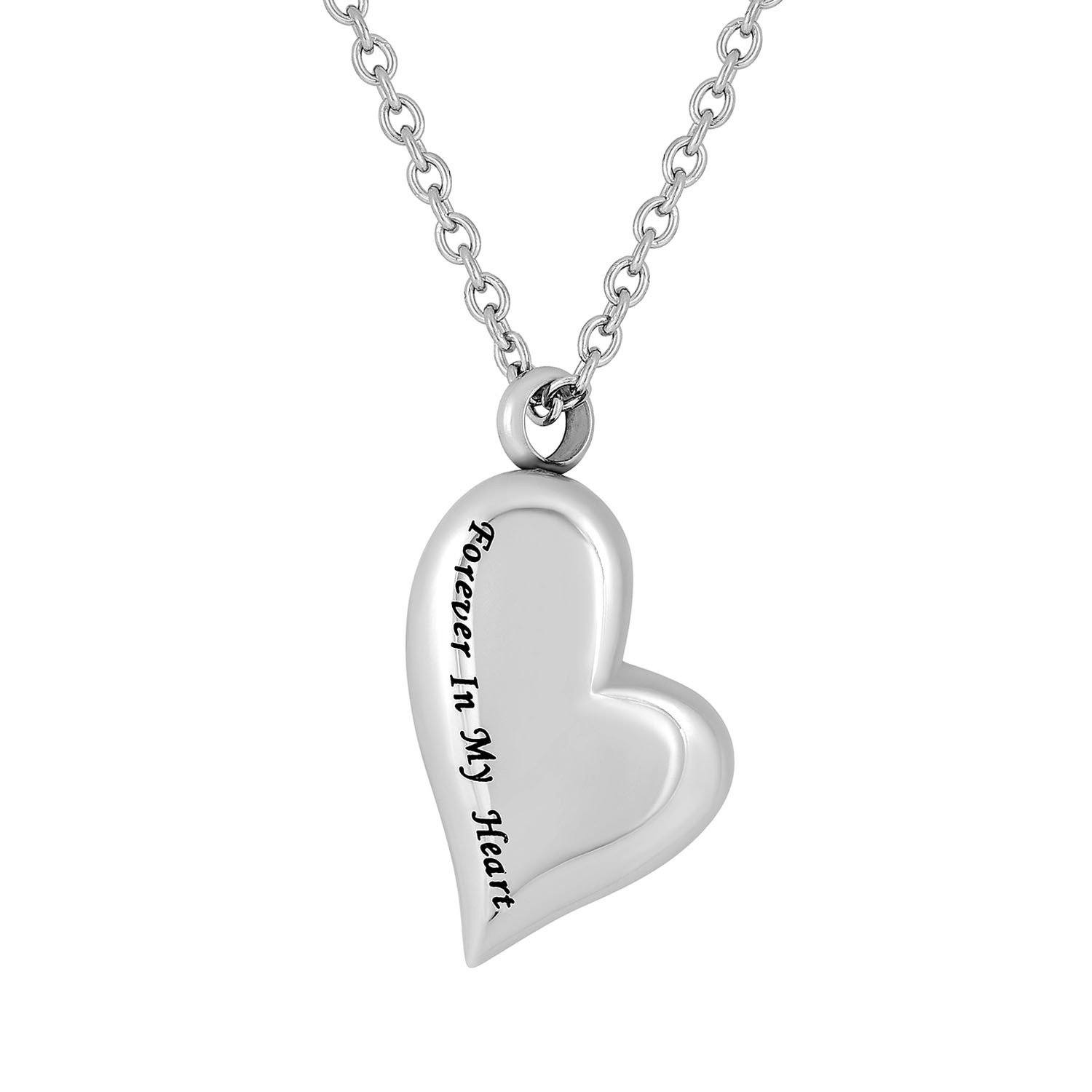 Cremation Jewelry Necklace for Ashes - Forever In My Heart