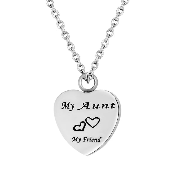 Cremation Jewelry Necklace for Ashes - My Aunt