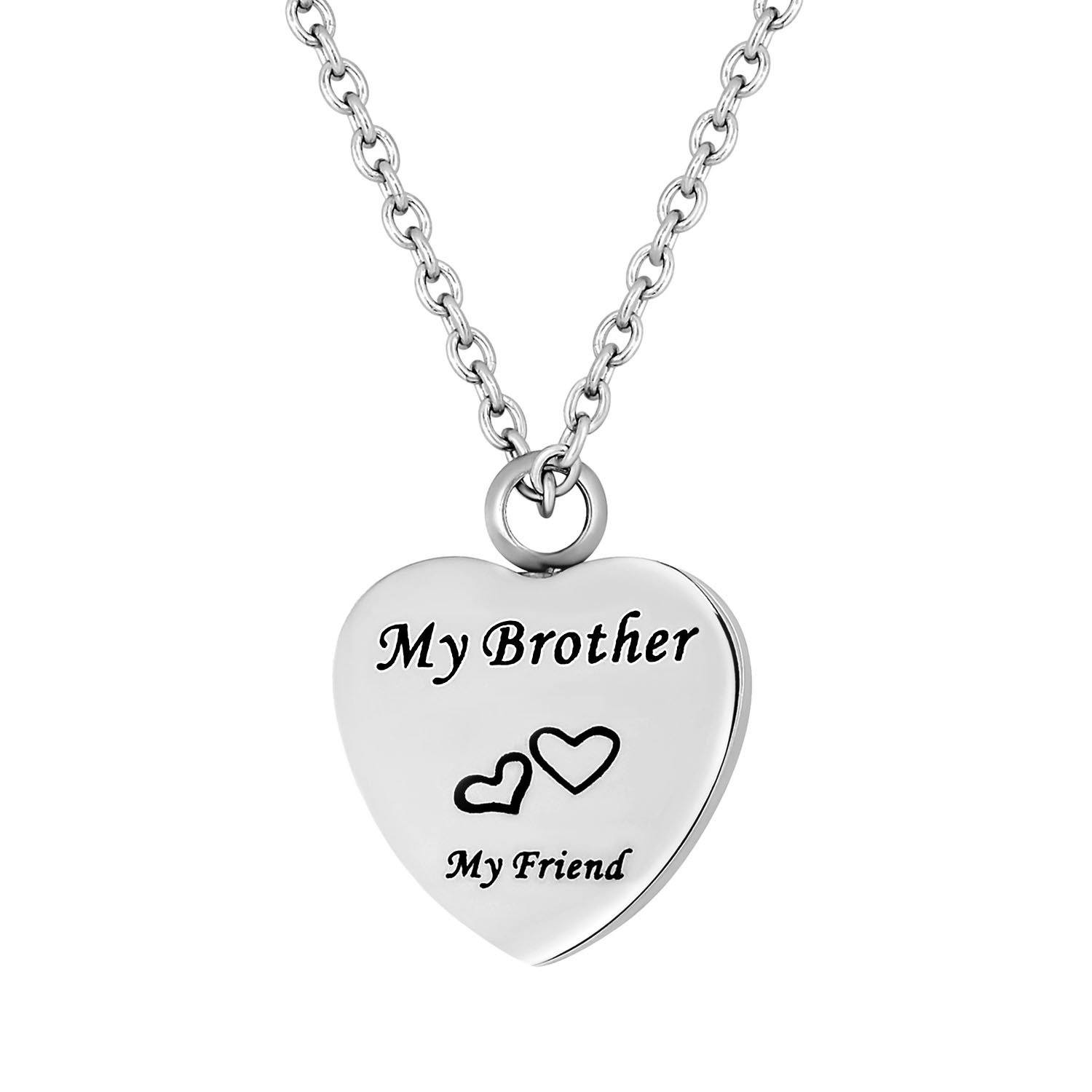 Cremation Jewelry Necklace for Ashes - My Brother