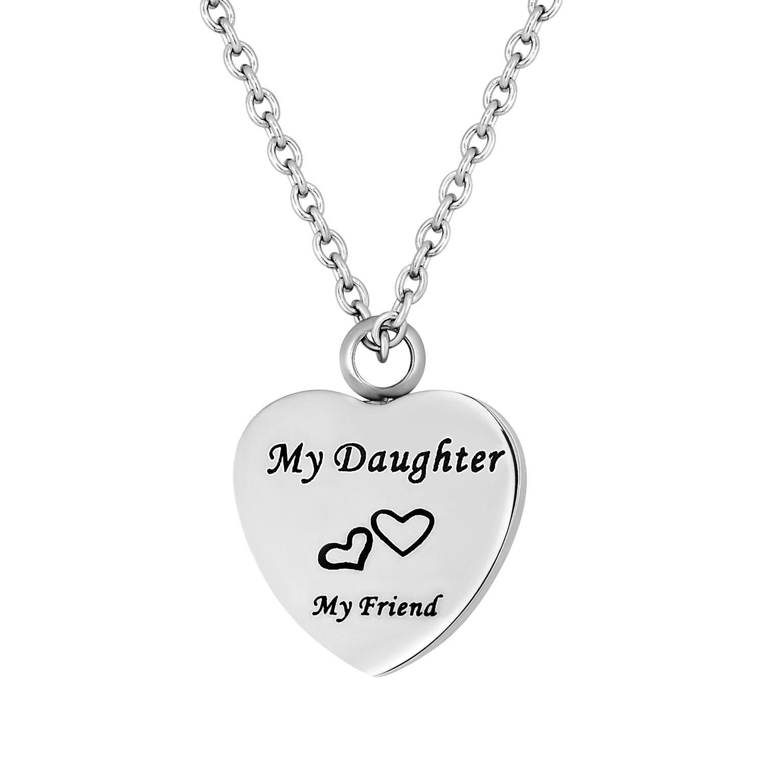 Cremation Jewelry Necklace for Ashes - My Daughter