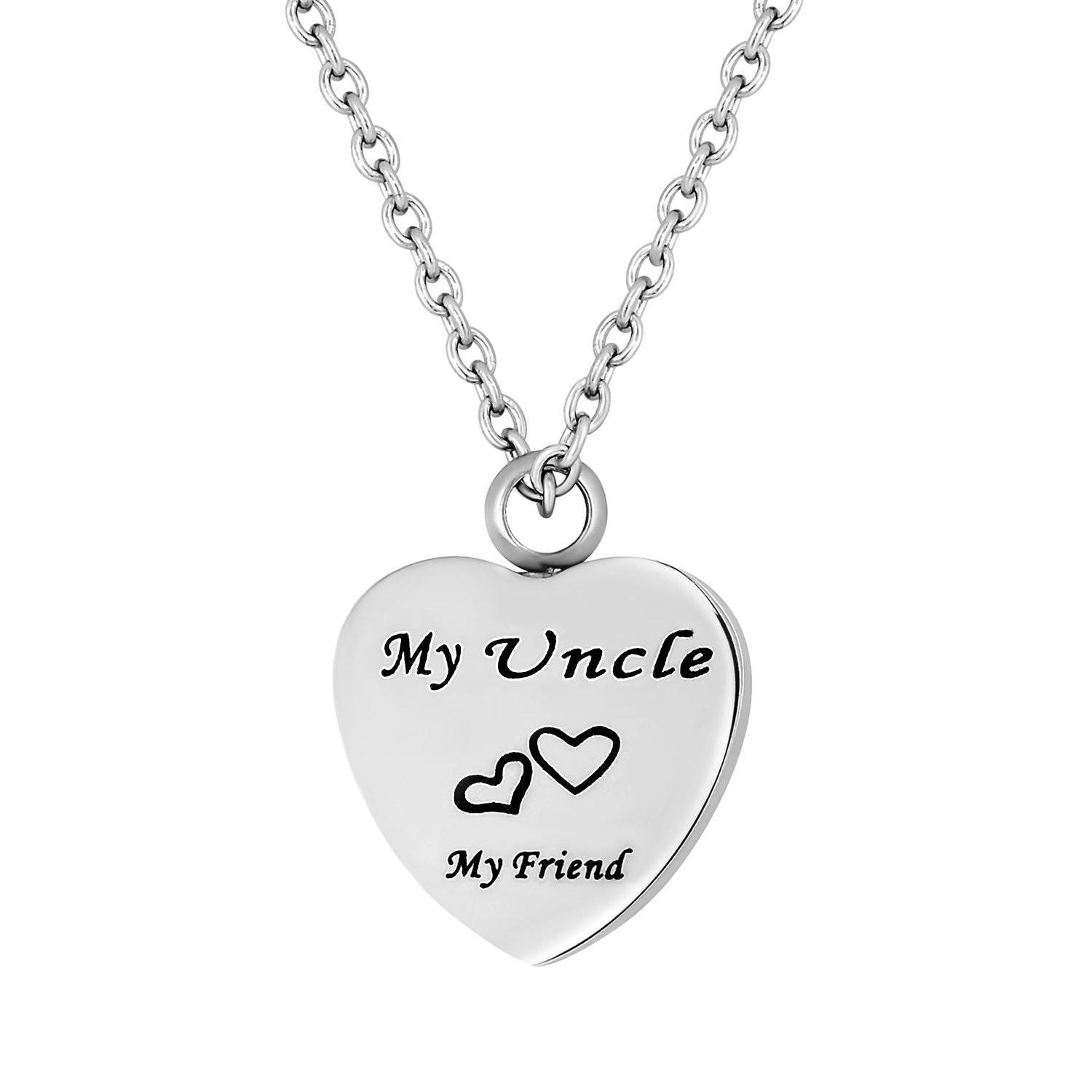 Cremation Jewelry Necklace for Ashes - My Uncle