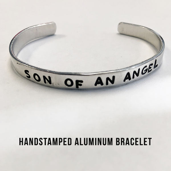 Son of an Angel bracelet - Does Not Hold Ashes