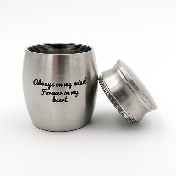 Forever in My Heart Small Cremation Urn for Ashes