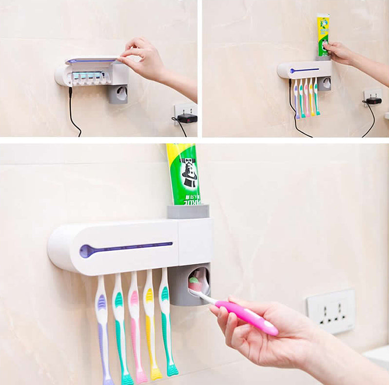 UV Toothbrush Sanitizer - Holder