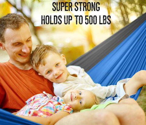 Lightweight Parachute Hammocks