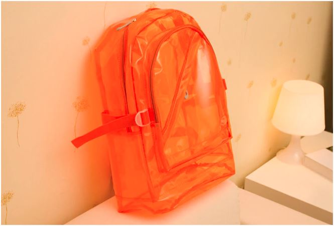 Transparent Clear Backpack - Waterproof School Bag For Kids