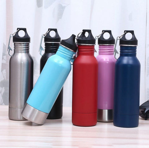 12oz Stainless Steel Beer Bottle Koozie Cooler - Insulated Thermos Holder