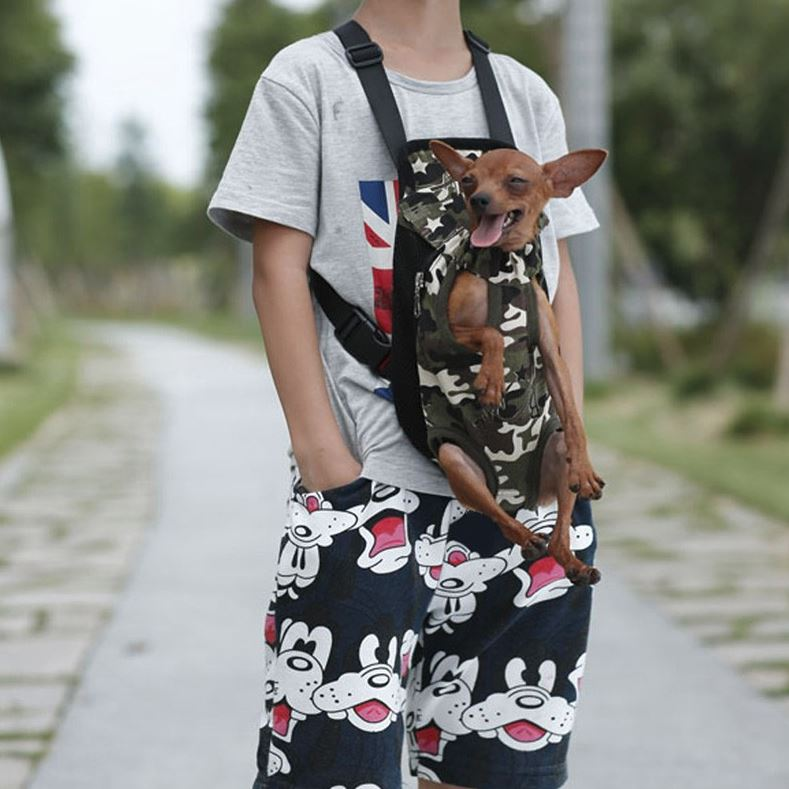 Small Pet Dog Carrier Backpack For Front Use