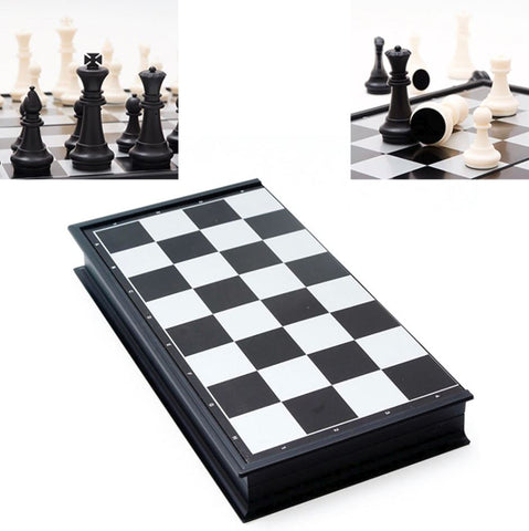 Magnetic Chess Board Game Set With Folding Case