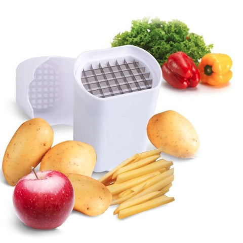 Handheld French Fry Cutter Slicer