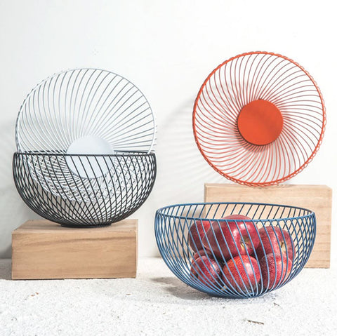 Modern Fruit Bowl Nordic Storage Basket