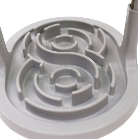 Pet Dog Slow Feeder - Maze Eating Bowl For Fast Eaters