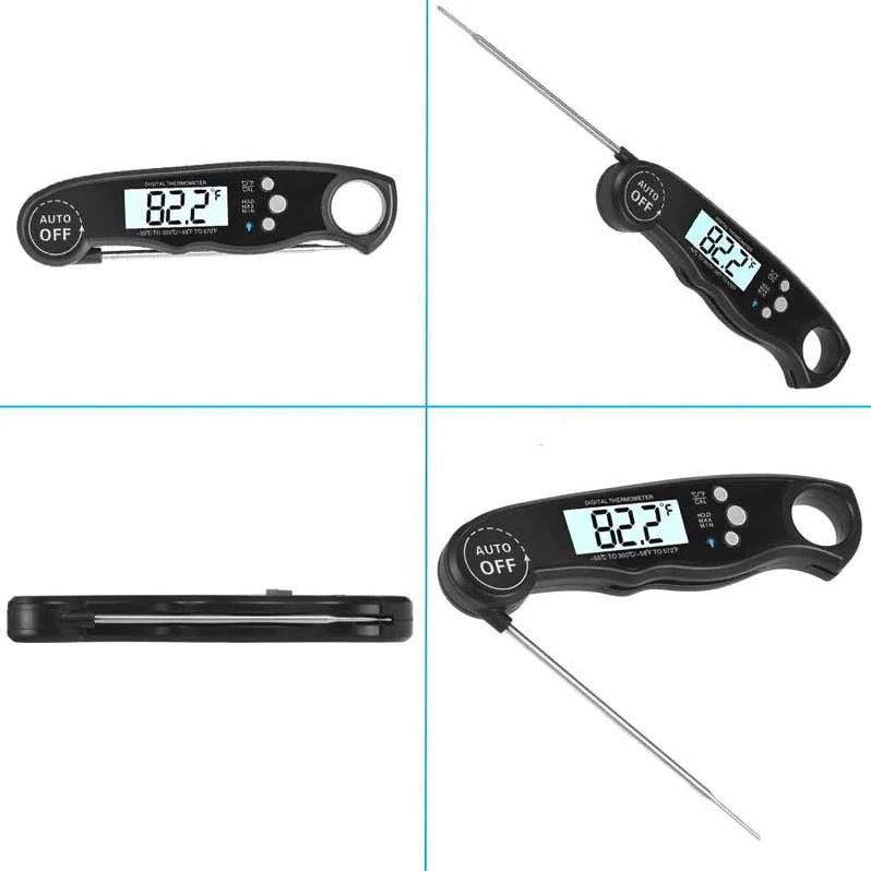 Wireless Digital Food Meat Thermometer With Backlight Display