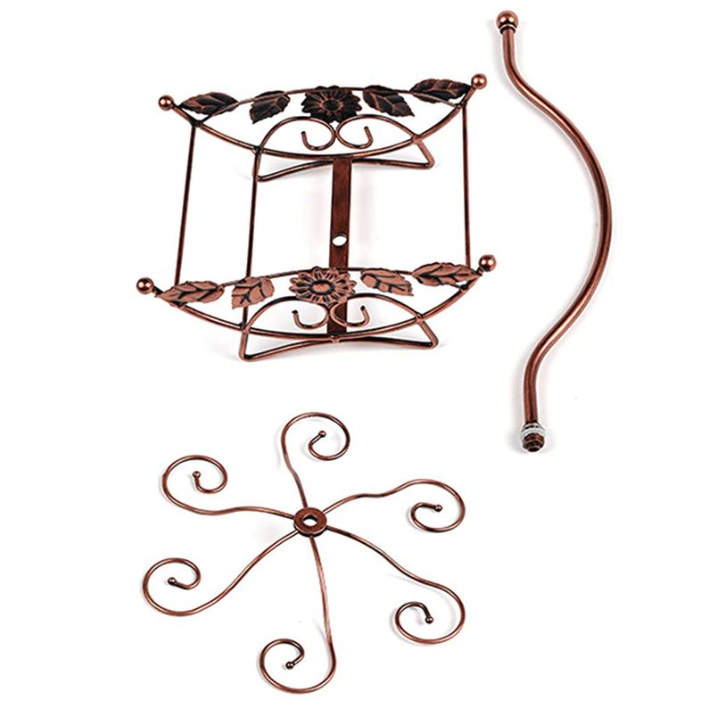Hanging Wine Glass Rack Holder - Bottle Stand