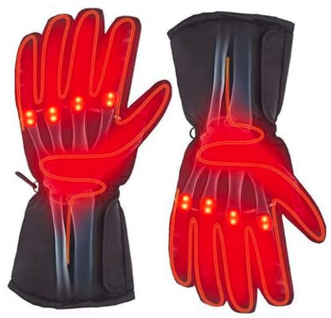 Warm Winter Electric Battery Heated Gloves