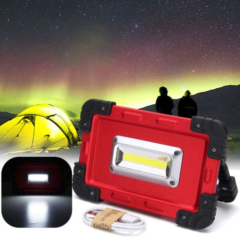 Portable Spotlight - USB 30W Rechargeable LED Light