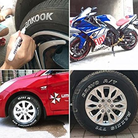 Waterproof Tire Paint Pen - Lettering Marker