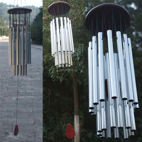 27 Tubes Wind Chimes Bells Home Decoration