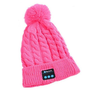 Winter Bluetooth Beanie Hat With Headphones