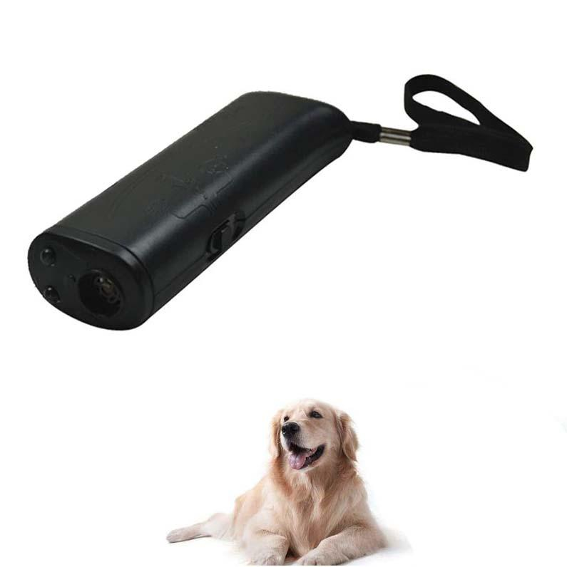 Ultrasonic Stop Dog Barking Control Device Dog Anti-Barking Device MojoTrend Black