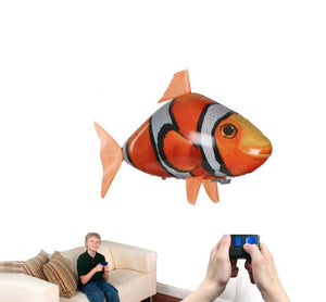 Remote Control Flying Shark Fish - RC Air Swimming Toy Balloon