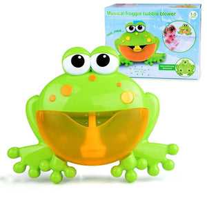 Automatic Bath Bubble Maker Music Toy Machine Bubble Maker Toy MojoTrend Frog