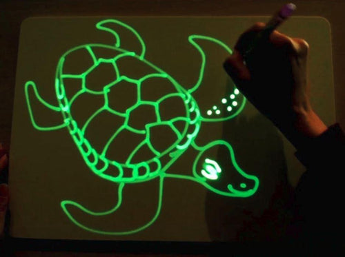 Magic Light Drawing Board Toy for Kids