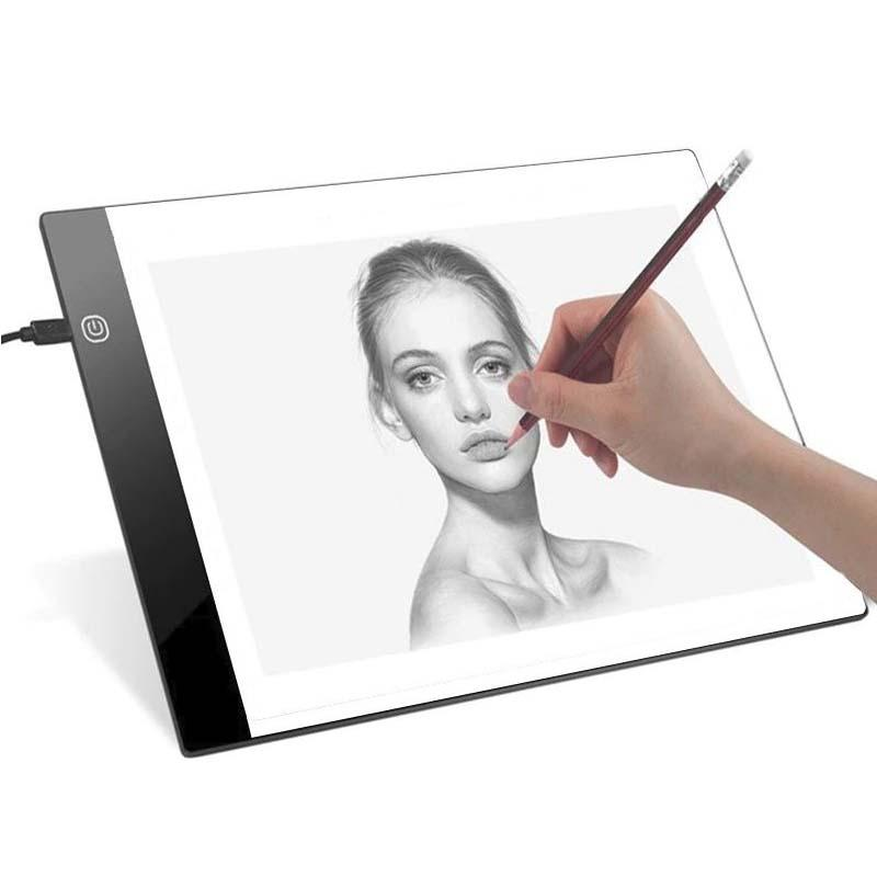 LED Digital Tracing Light Drawing Board - A4 Art Graphic Box LED Drawing Board MojoTrend