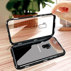 Tempered Glass Magnetic Cell Phone Case for Android iPhone Samsung Magnetic Cell Phone Case MojoTrend