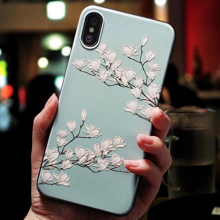Dreamy Flower Phone Case Phone Case MojoTrend For iPhone 6 6s