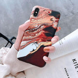 Lava Marble Phone Case Phone Case MojoTrend For iPhone 6 6S