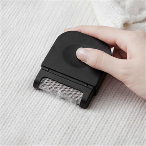 Mini Pocket Lint Remover - Hair Ball Fluff Trimmer Pocket Lint Remover MojoTrend Black
