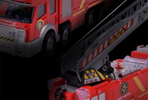 Electric Fire Truck Toy For Kids With Water Spray Fire Truck Toy MojoTrend