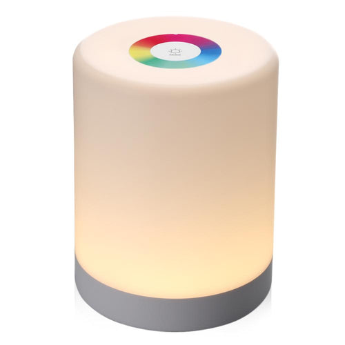 Portable RGB LED Touch Lamp Night Light Touch Lamp MojoTrend