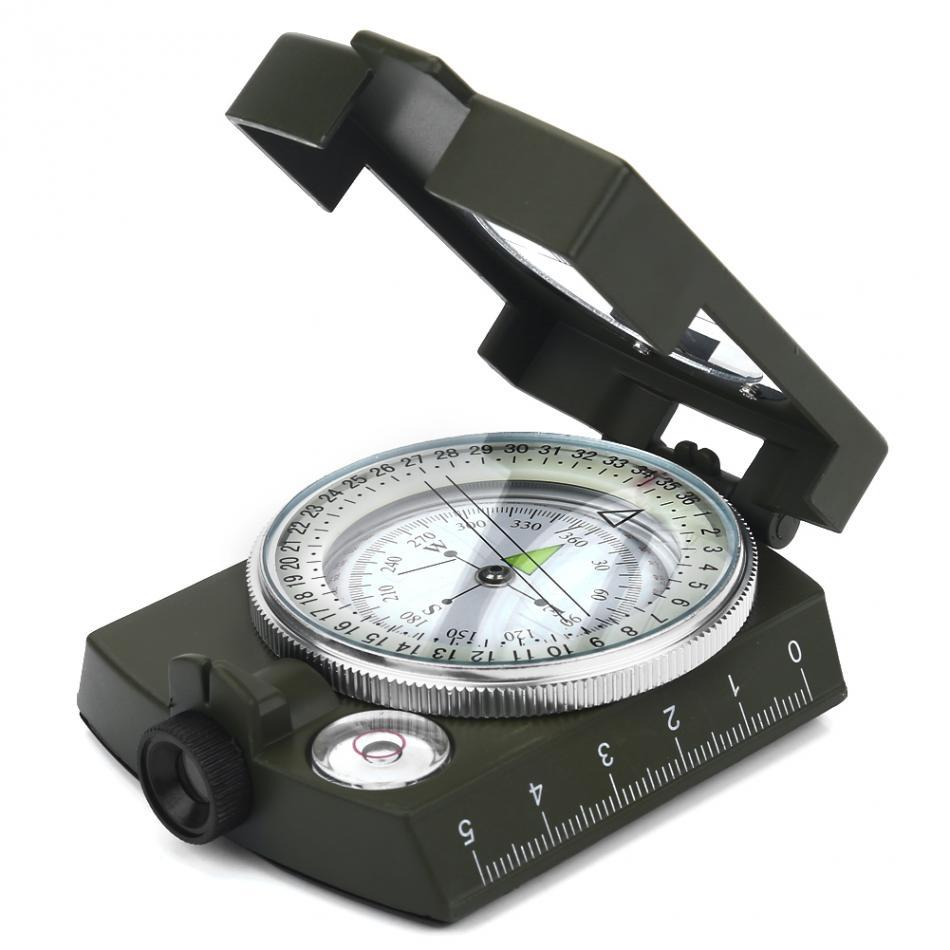 Waterproof Luminous Survival Lensatic Geo Compass Compass MojoTrend
