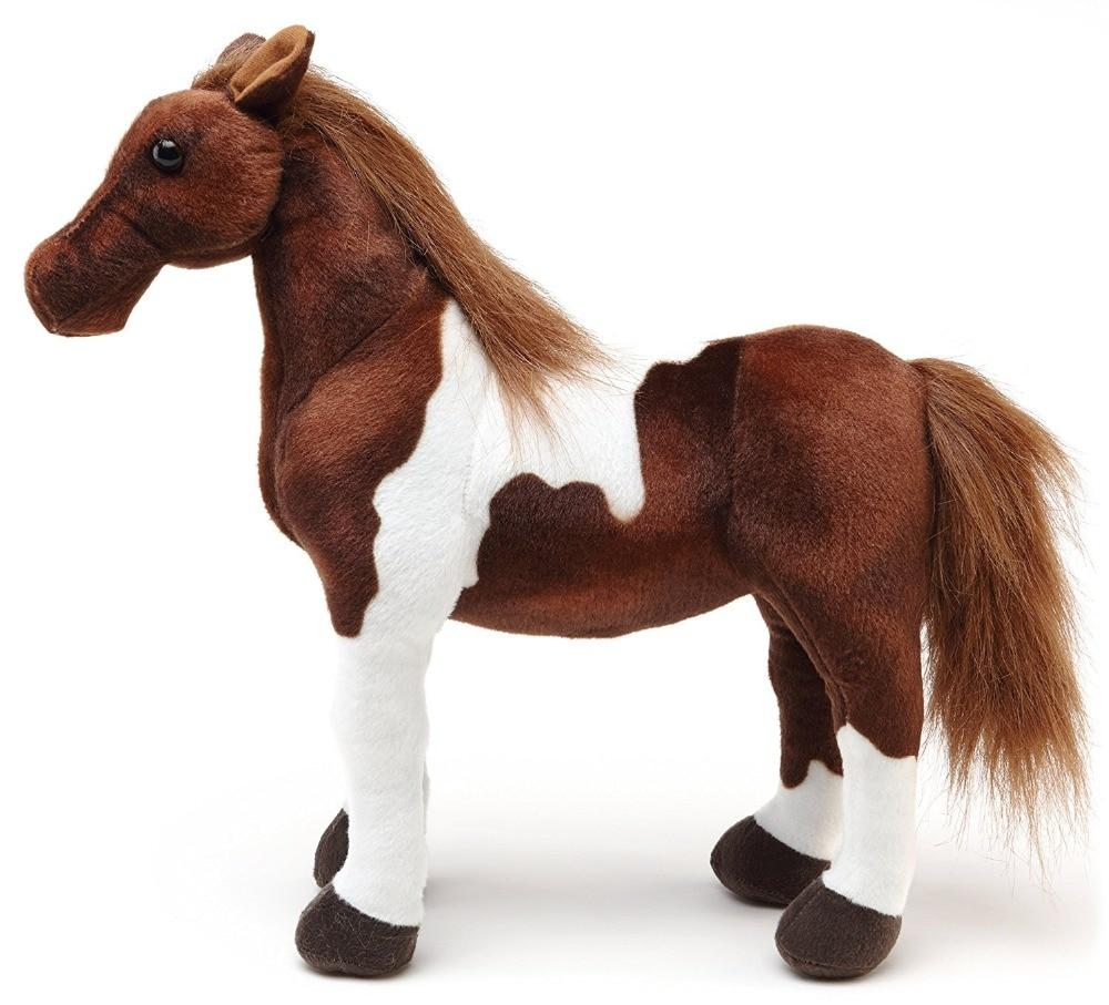 Soft Plush Horse Toy For Kids Home Decoration Kids Horse Toy MojoTrend 12 inch
