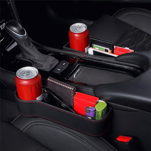 Car Front Seat Organizer - Storage Pocket Box MojoTrend