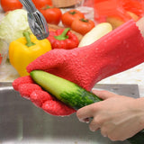 Potato Peeling Fish Scaling Scrubbing Gloves Potato Peeling Gloves MojoTrend