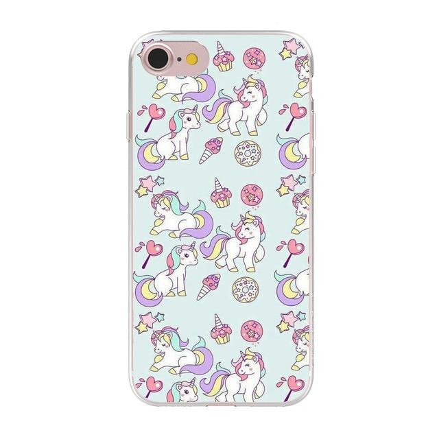 Cute Unicorn Phone Case Phone Case MojoTrend For iPhone 6 6S 2