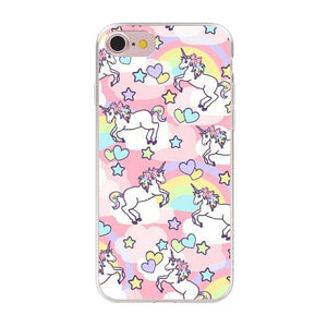Cute Unicorn Phone Case Phone Case MojoTrend For iPhone XS Max 6