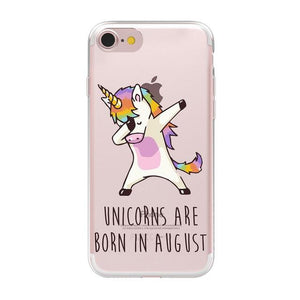 Cute Unicorn Phone Case Phone Case MojoTrend For iPhone XS Max 8