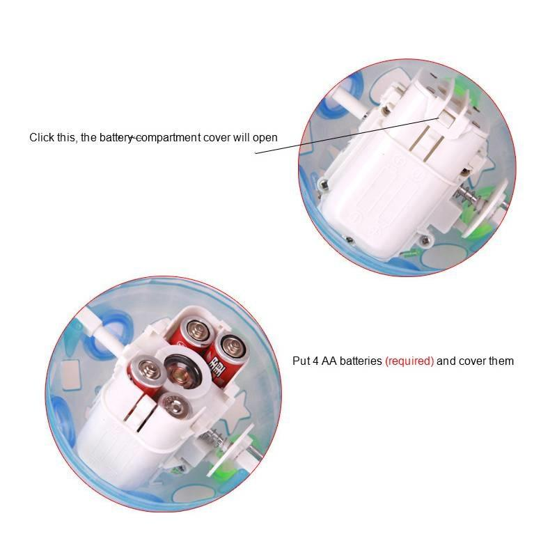 Dog Pet Jumping Activation Ball LED Toy Dog Toy MojoTrend