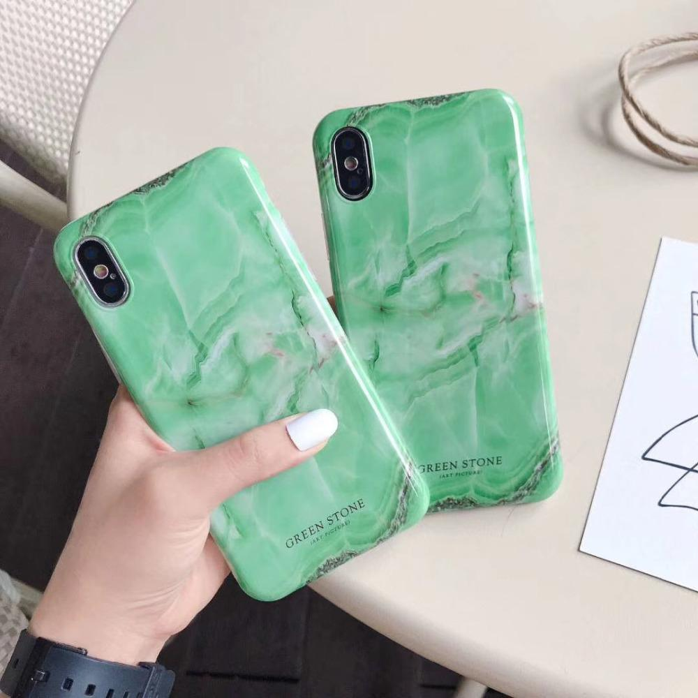 Green Stone Phone Case MojoTrend